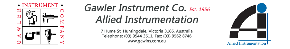 Gawler Instrument Company, Allied Instrumentation -- Proudly Since 1956